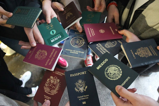 exchange passports